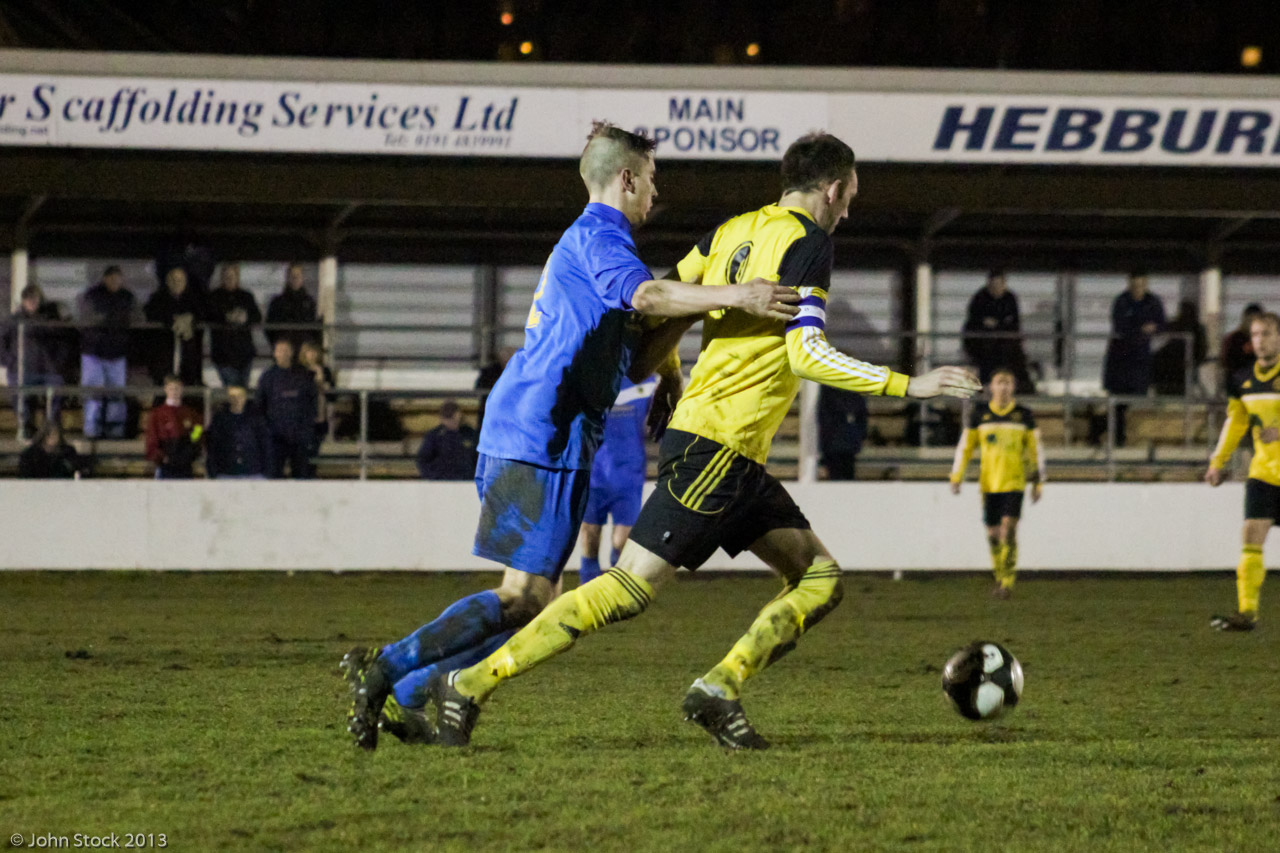 Taken by John Stock Photography and kindly provided by Hebburn Town F.C.